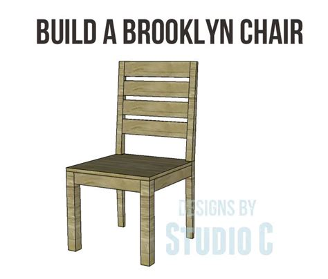 free plans to build a chair dining room chair