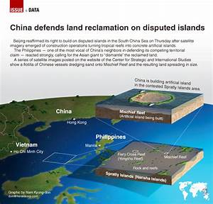 [Graphic News] China defends land reclamation on disputed ...