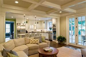 Open concept kitchen living room design ideas pictures for Living room remodel concept