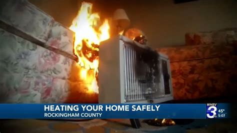 space fire heaters caution urge officials