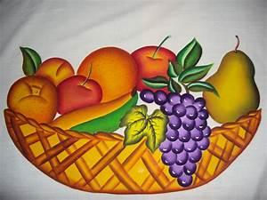 ARTE EN TELA: Mantel de Frutas para mesa Redonda