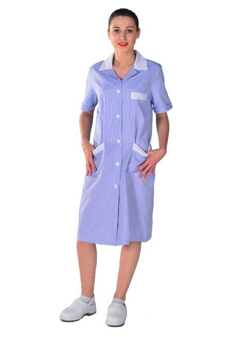 blouse de cuisine femme blouse de travail femme de ménage bleue blouse femme de