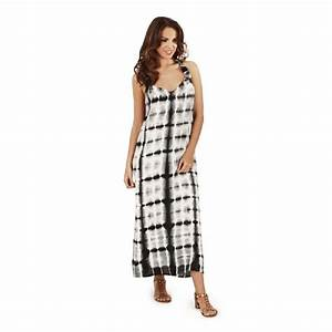 robe longue femme ete plage tie dye taille 44 46 48 50 ebay With robe longue taille 48
