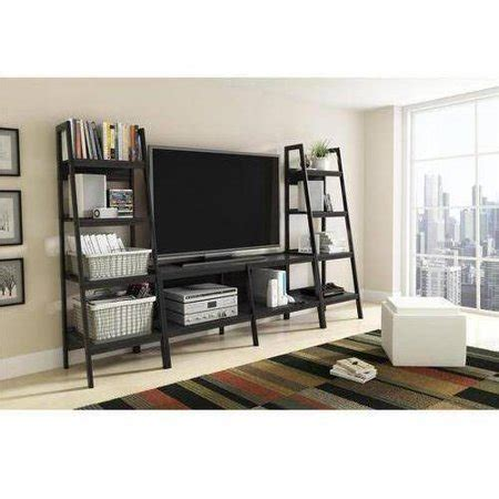 Tv Stands With Bookcases by Ladder Tv Stand And Bookcase 3 Entertainment Center