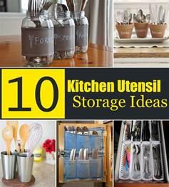kitchen utensil storage ideas 10 creative kitchen utensil storage ideas