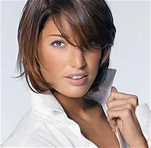 Coupe Mi Courte Femme : modele coiffure mi court coupe coiffure cheveux mi long ~ Nature-et-papiers.com Idées de Décoration