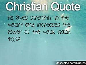 Christian Quotes About Strength. QuotesGram