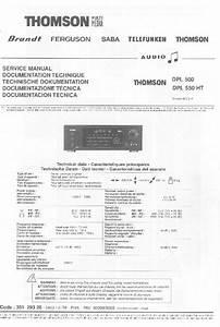 Thomson  U2013 Diagramasde Com  U2013 Diagramas Electronicos Y