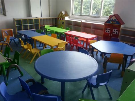 plastic free daycare furniture used preschool tables and