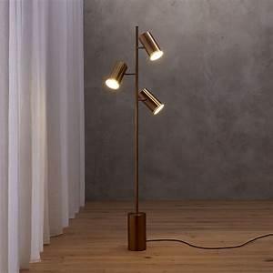 20 modern corner lighting ideas for Modern floor lamp cb2
