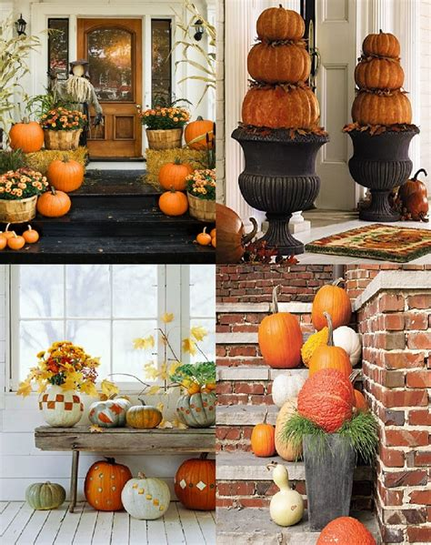 Outdoor Decor For Fall  Dream House Experience