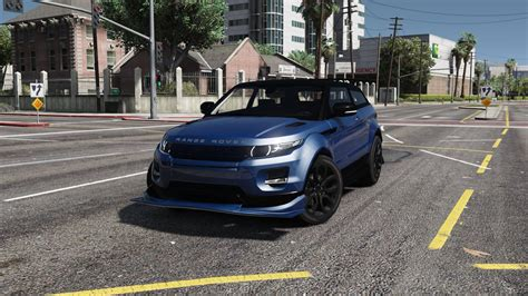 Land Rover Range Rover Evoque Modification by Range Rover Evoque Add On Replace Tuning Template