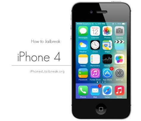 how to jailbreak iphone 4