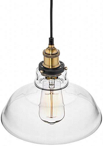 farmhouse clear glass shade ceiling pendant lighting