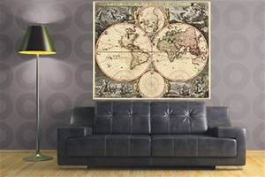 Carte Du Monde Deco : comment voyager gr ce la d co architecture interieure conseil ~ Teatrodelosmanantiales.com Idées de Décoration