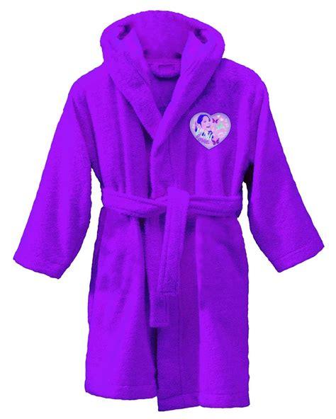 robe de chambre violetta violetta peignoir sortie de bain 10 à 12 ans