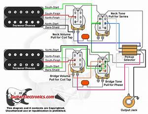 2 Hbs  3 2 Vol  2 Tone  Coil Tap Series Parallel Phase
