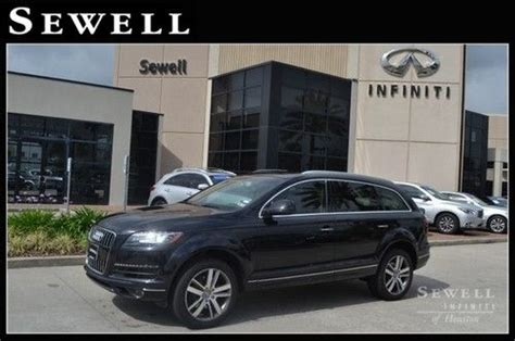 sell used 2013 audi q7 at sewell infiniti in houston texas united states for us 54 982 00