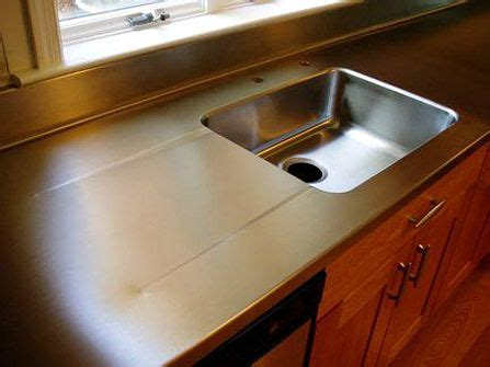 Stainless Steel Sink Countertop Integrated - 1 1 2 quot stainless steel countertop with integral sink