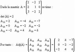 Determinante Berechnen 2x2 : 5 6 m todo de la inversa regla de cramer mpi2015 petr leo ~ Themetempest.com Abrechnung
