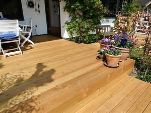 Bestes holz f r terrasse terrassen len aus l rche holz for Holz für terrassen
