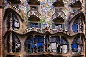Antoni Gaudi Casa Batllo Facade Photograph by George Oze