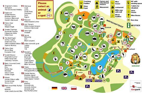 Britzer Garten Lichterfest by Zoo Plan Englisch