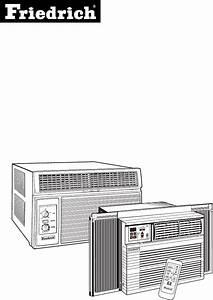 Friedrich Air Conditioner 2004 User Guide