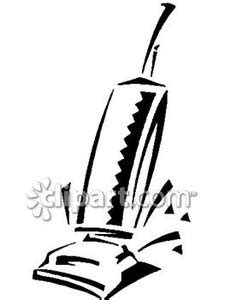 vacuum clipart black and white black and white upright vacuum royalty free clipart picture