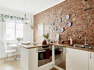 poltroncine moderne da salotto With cucine con pareti in mattoncini