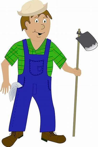 Farmer Clipart Cartoon