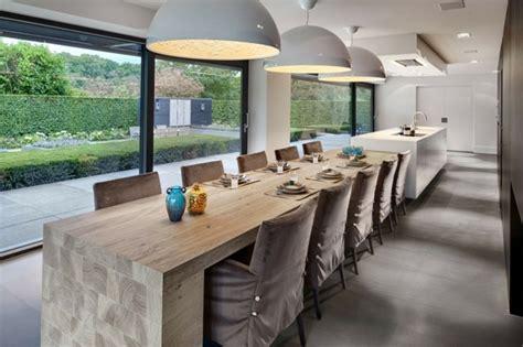 ik table cuisine îlot de cuisine feuille par culimaat high end kitchens
