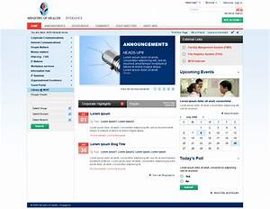 sharepoint intranet portal by scorpionsera images frompo With sharepoint portal templates