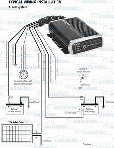 Projecta Idc25 Dual Dc To Dc Charger Isolator Solar Agm