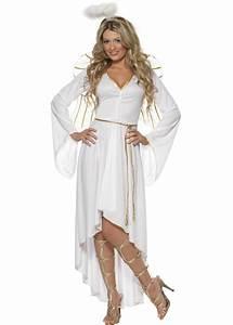 Ladies White Christmas Angel Costume Ladies White