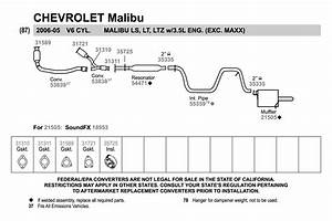 29 2004 Chevy Malibu Exhaust System Diagram