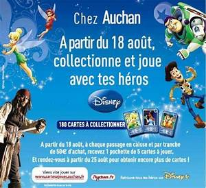 Code Secret Carte Auchan : collection carte auchan disney offre de remboursement ~ Medecine-chirurgie-esthetiques.com Avis de Voitures