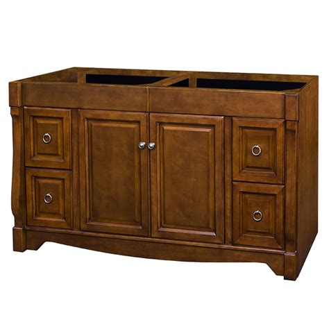 Allen And Roth 60 Inch Bathroom Vanity by Shop Allen Roth Caladium Cherry Traditional Bathroom