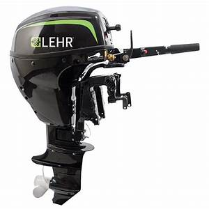 Lehr 9 9hp Propane Powered Outboard Engine  Short Shaft