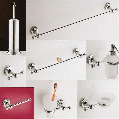 serie accessori da bagno luxe alfeo arredobagno
