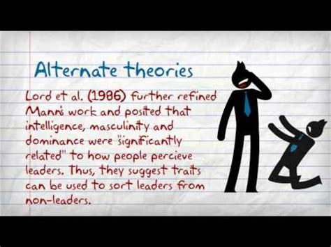 trait approach chapter  youtube