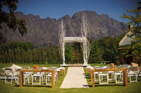 wedding venues  south africa