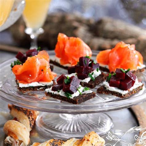 nibbles and canapes recipes for 10 of the best festive canapés