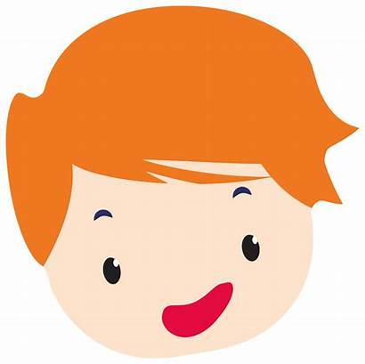 Head Cartoon Clip Boys Boy Svg Onlinelabels