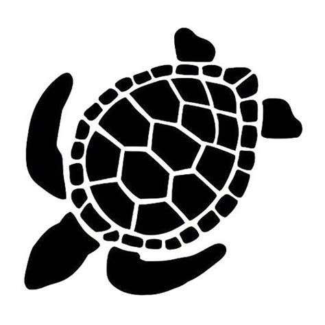 sea turtle die cut vinyl decal pv vinyl animal