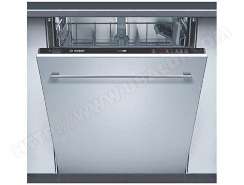 habillage lave vaisselle bosch bosch sgv46m03ep lave vaisselle tout integrable 60 cm bosch livraison gratuite