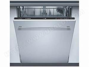 Porte Lave Vaisselle Encastrable : bosch sgv46m03ep lave vaisselle tout integrable 60 cm ~ Dailycaller-alerts.com Idées de Décoration