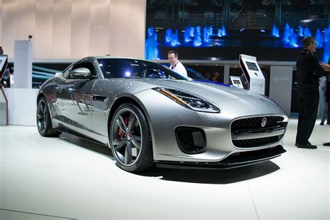 2018 Jaguar Ftype Gets New Base 4cylinder Engine