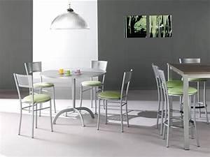 Chaise Cuisine Design : tables et chaises de cuisine meubles meyer ~ Teatrodelosmanantiales.com Idées de Décoration