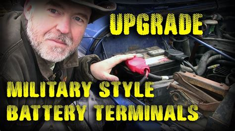 Battery Terminal Upgrade Military Spec Jeep